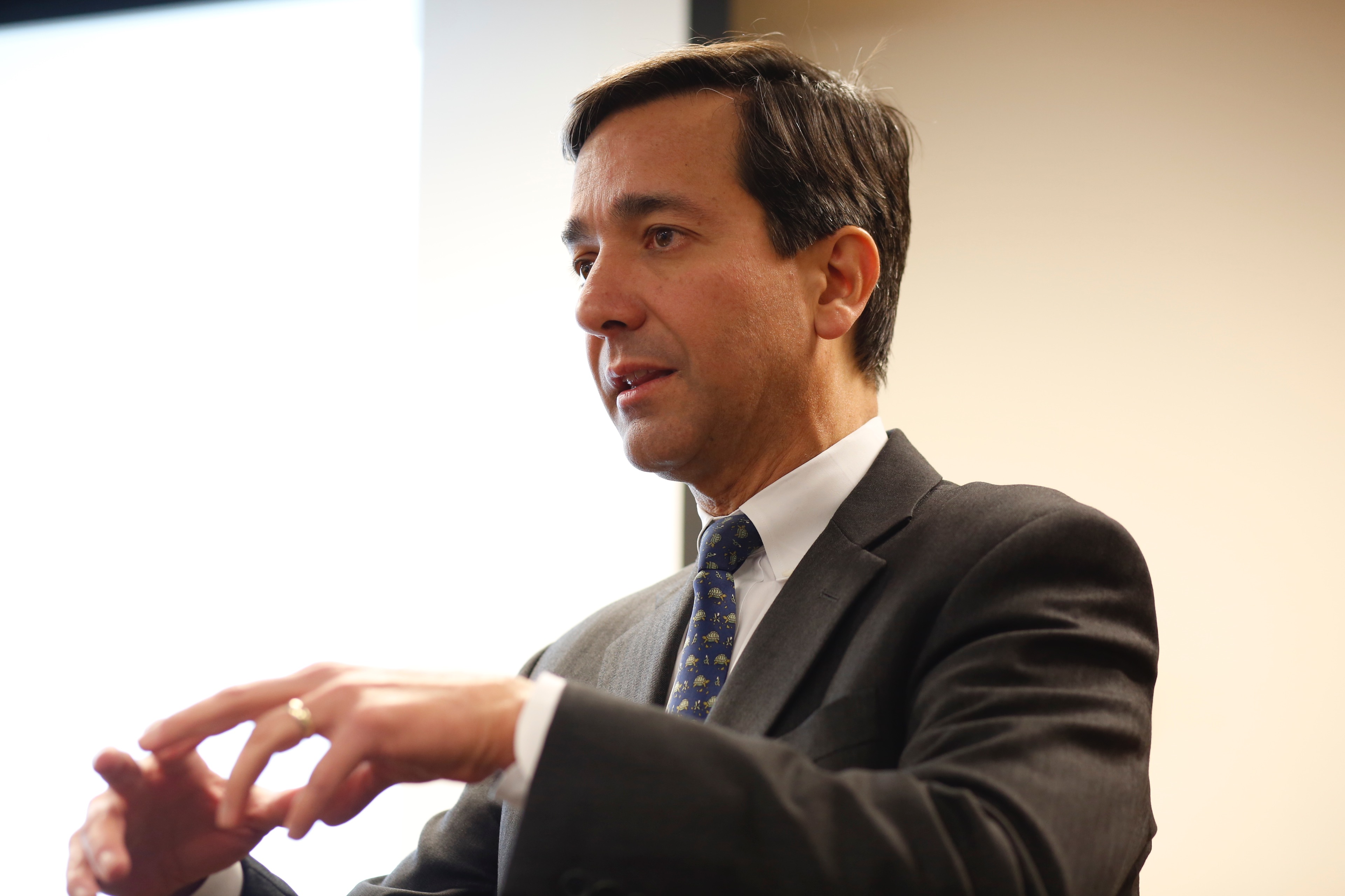 Former Puerto Rico Governor Luis Fortuño (SFS '82) Speaks on Puerto Rico's Future