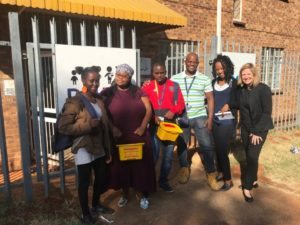 Mendenhall at launch of Soweto project