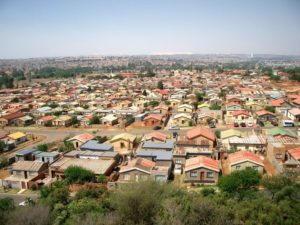 Pic of Soweto township