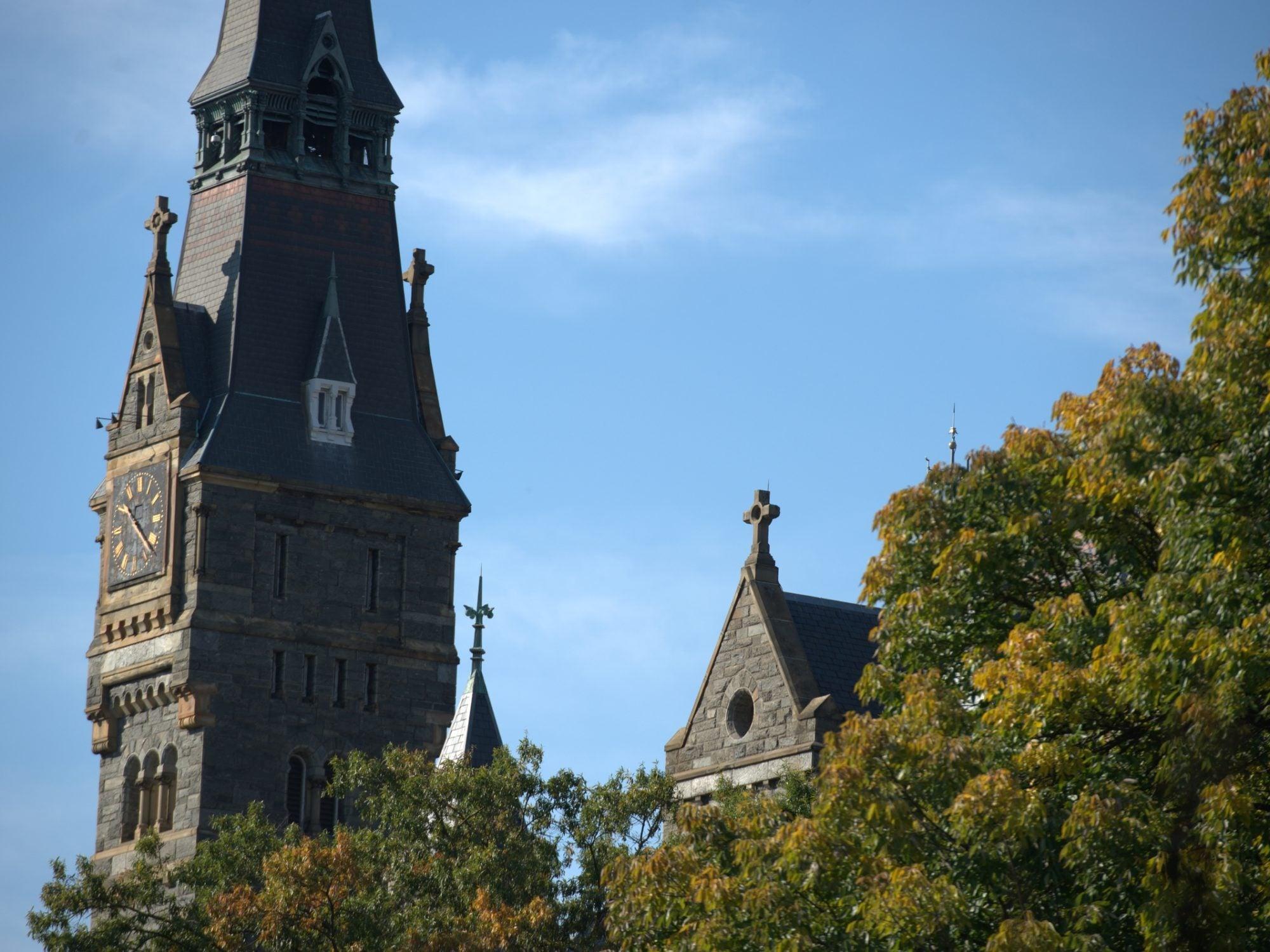 Healy Hall Clock Tower
