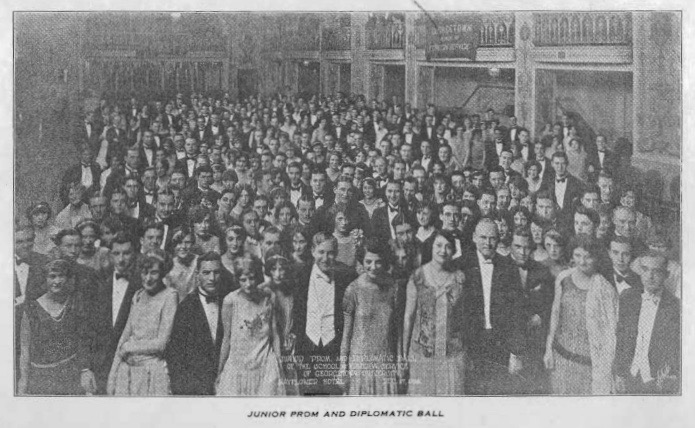 Junior Prom and Diplomatic Ball 1925