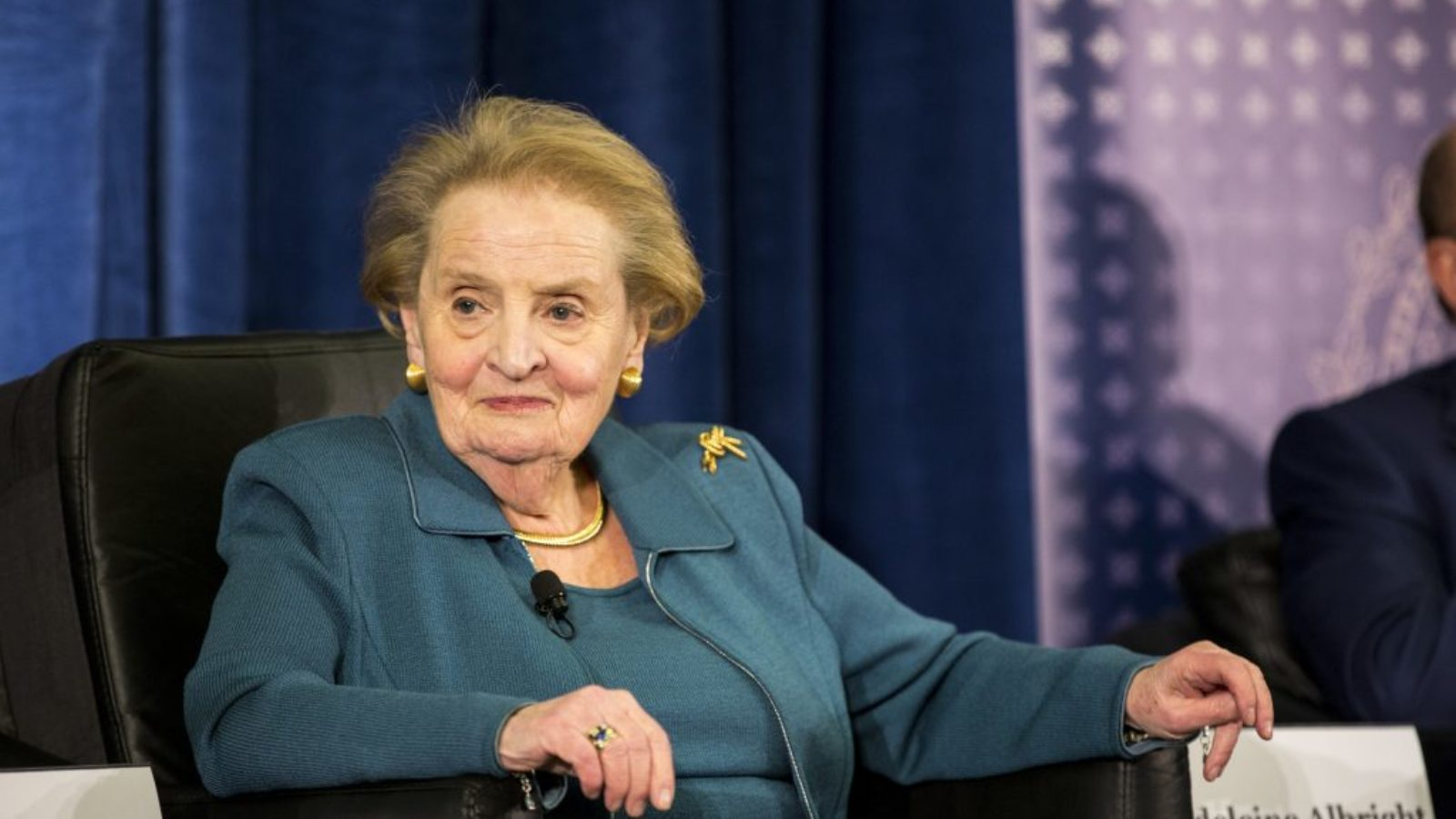 Madeline Albright joining the SFS staff