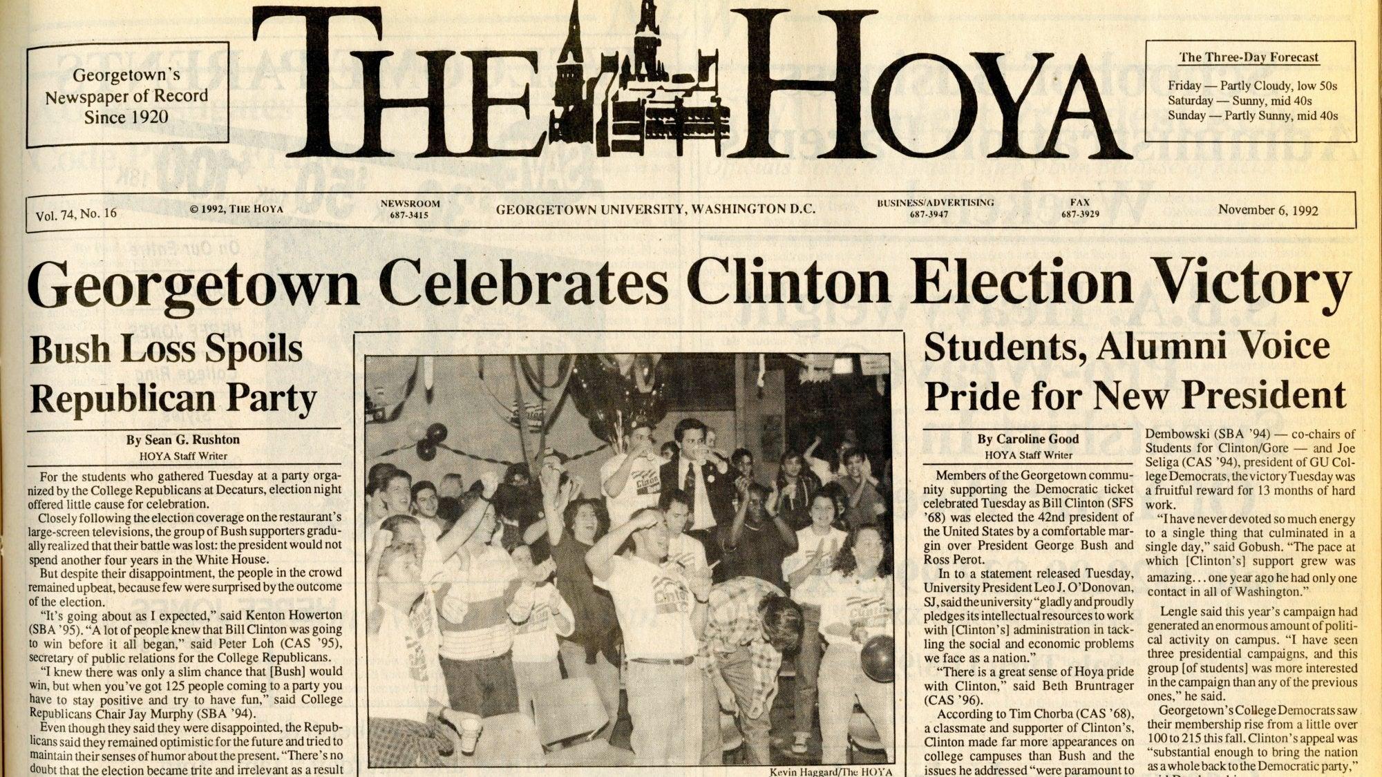 Clinton Election