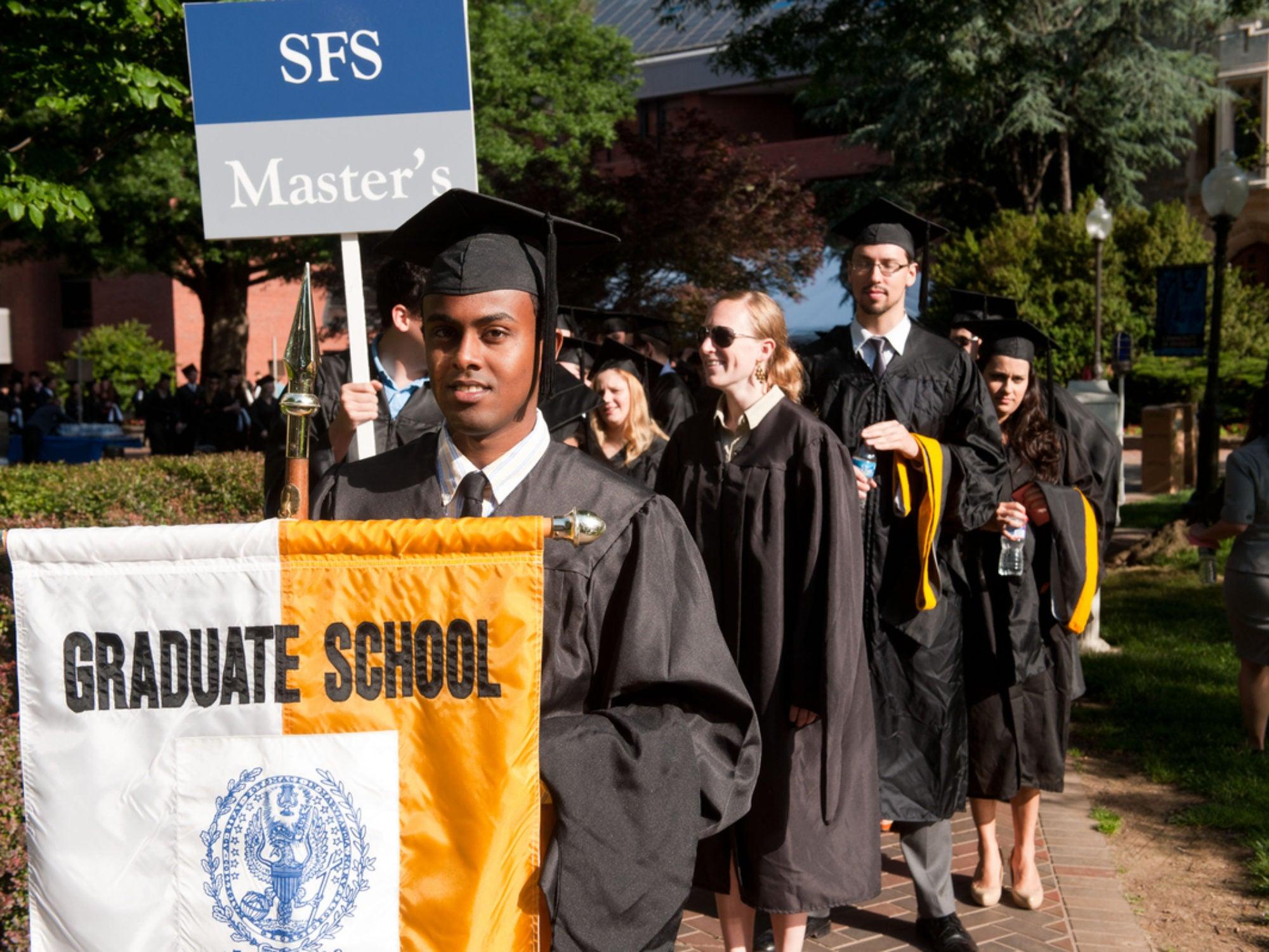 SFS Graduate commencement