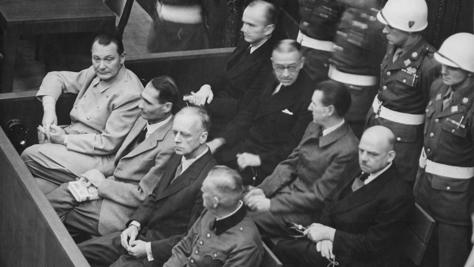 Accused at Nuremberg