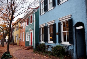 Georgetown townhouses