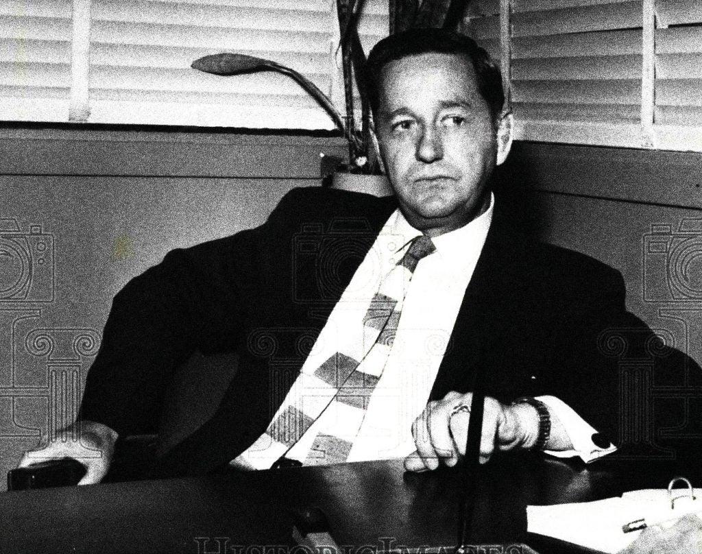 Harold Minor Portrait