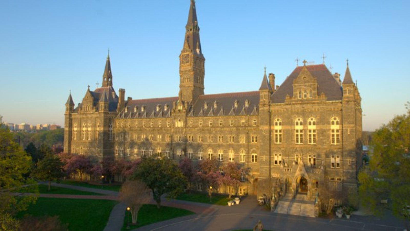 Healy Hall Drone picture