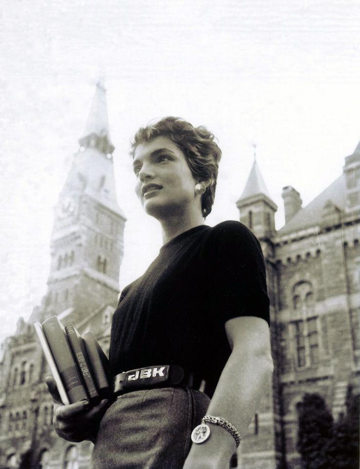 Jaqueline Kennedy at Georgetown University