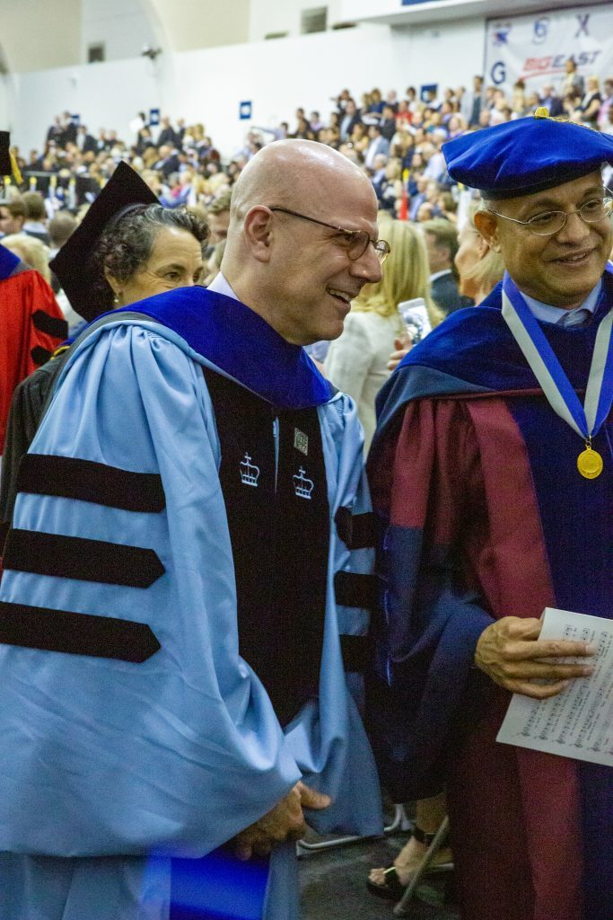 Dean Helman at Convocation