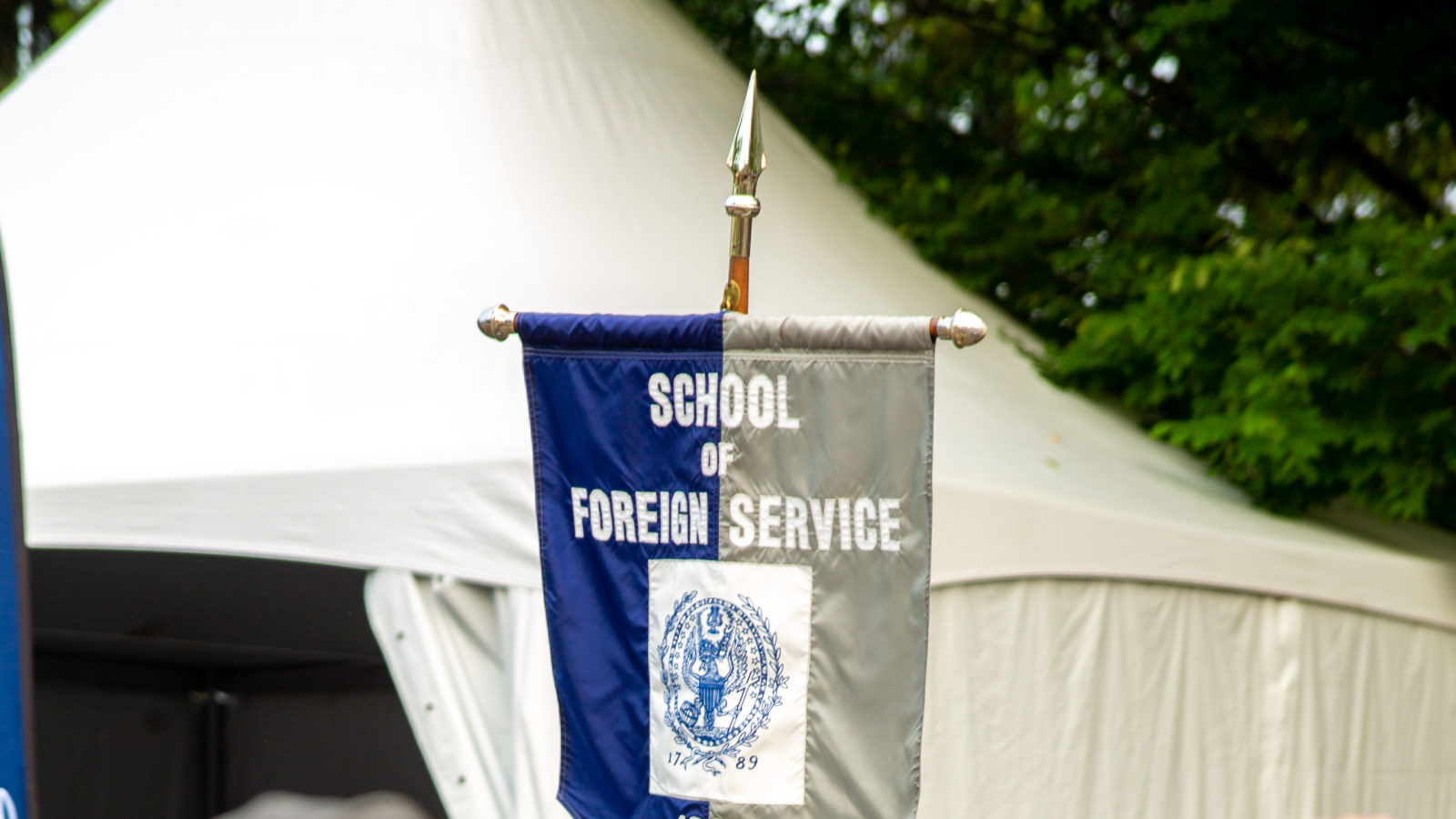 1919 Banner graduation
