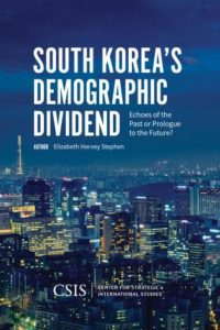 South Korea's Demographic Dividend: Echoes of the Past Or Prologue to the Future?
