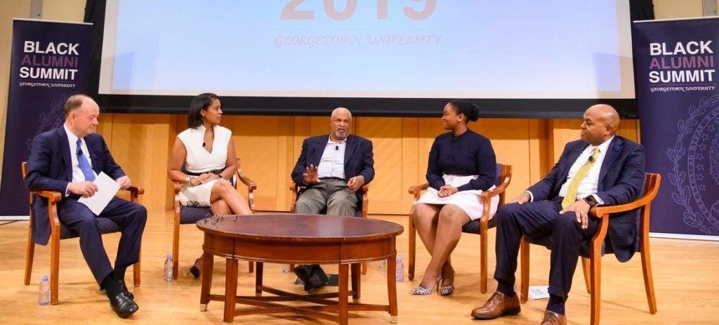 Elizabeth Nalunga on Black Alumni Summit panel