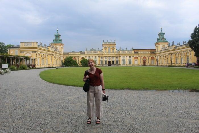 Lauren Frasier in Poland